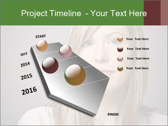 Attractive Woman In Thirties PowerPoint Template - Slide 26