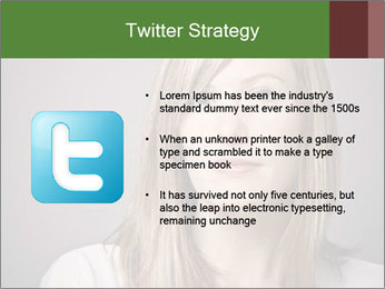 Attractive Woman In Thirties PowerPoint Template - Slide 9