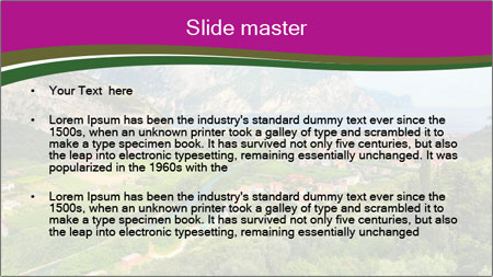 Alps Tour PowerPoint Template - Slide 2