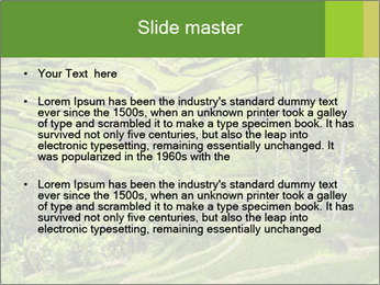 Chinese Tea Plantation PowerPoint Template - Slide 2