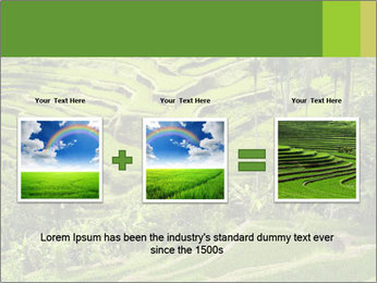Chinese Tea Plantation PowerPoint Template - Slide 22