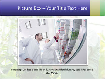 Man Working In Green House PowerPoint Template - Slide 16