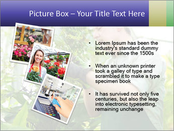 Man Working In Green House PowerPoint Template - Slide 17