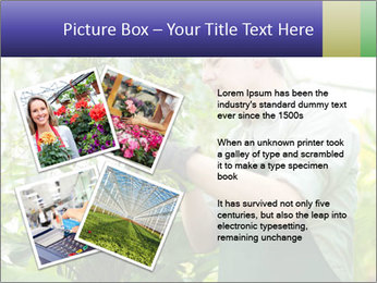 Man Working In Green House PowerPoint Template - Slide 23