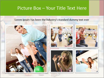 People in bowling PowerPoint Template - Slide 19