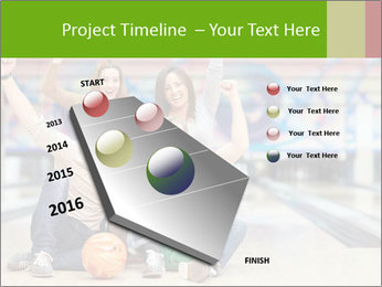 People in bowling PowerPoint Template - Slide 26