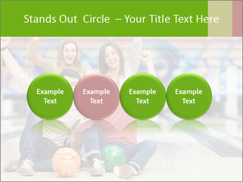 People in bowling PowerPoint Template - Slide 76