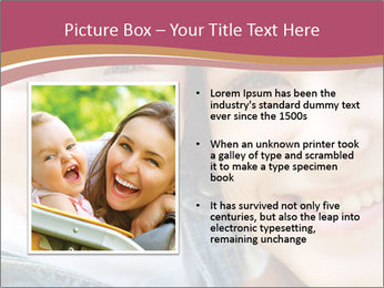 Mother And Baby PowerPoint Template - Slide 13