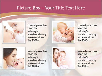 Mother And Baby PowerPoint Template - Slide 14