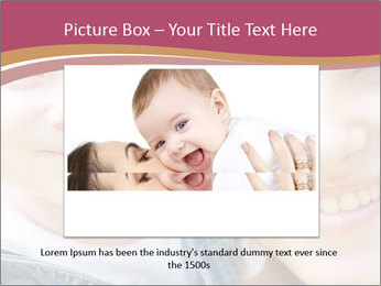 Mother And Baby PowerPoint Template - Slide 15