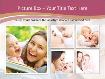 Mother And Baby PowerPoint Template - Slide 19