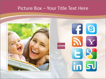 Mother And Baby PowerPoint Template - Slide 21