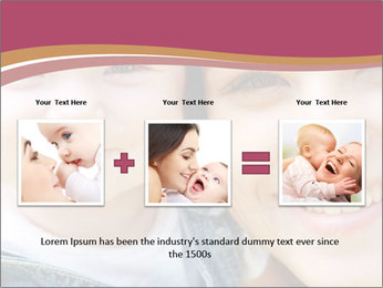 Mother And Baby PowerPoint Template - Slide 22