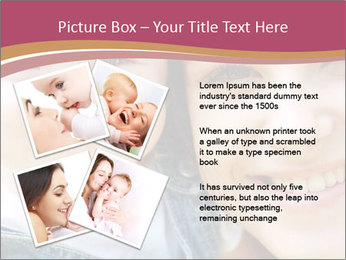 Mother And Baby PowerPoint Template - Slide 23