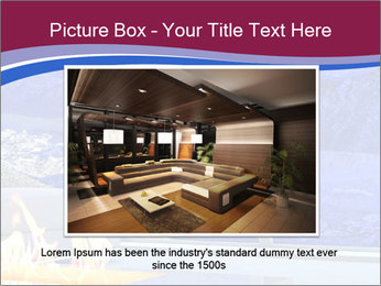 House in the mountain PowerPoint Template - Slide 16