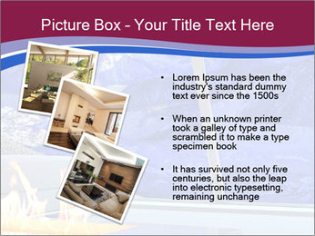 House in the mountain PowerPoint Template - Slide 17