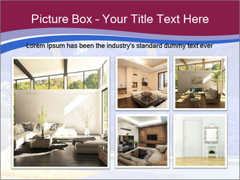 House in the mountain PowerPoint Template - Slide 19