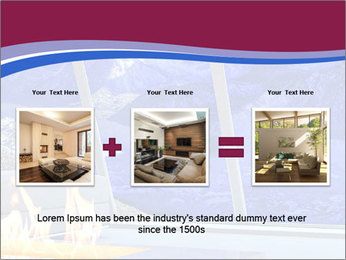 House in the mountain PowerPoint Template - Slide 22
