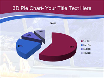 House in the mountain PowerPoint Template - Slide 35