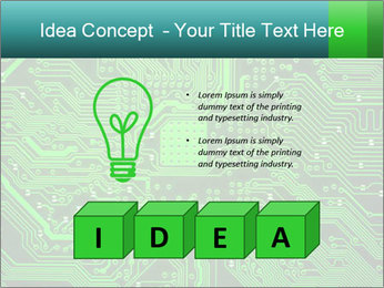 Computer board PowerPoint Template - Slide 80