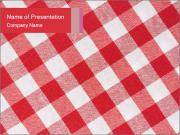 Tablecloth PowerPoint Template