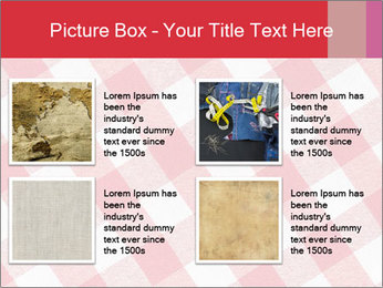 Tablecloth PowerPoint Template - Slide 14