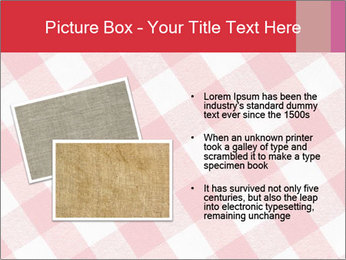 Tablecloth PowerPoint Template - Slide 20
