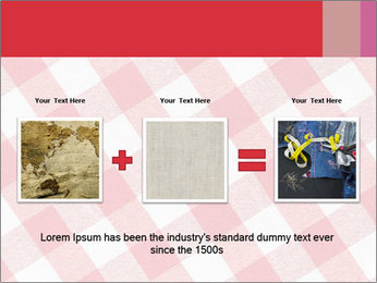 Tablecloth PowerPoint Template - Slide 22