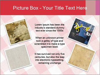 Tablecloth PowerPoint Template - Slide 24