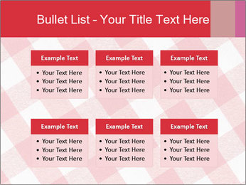 Tablecloth PowerPoint Template - Slide 56