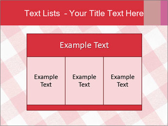Tablecloth PowerPoint Template - Slide 59