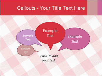Tablecloth PowerPoint Template - Slide 73