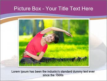 Yoga PowerPoint Template - Slide 16
