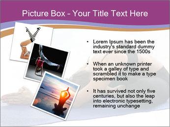 Yoga PowerPoint Template - Slide 17