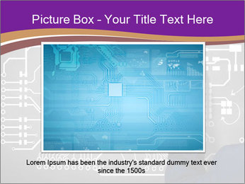 Human hand drawing PowerPoint Template - Slide 15
