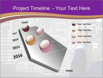 Human hand drawing PowerPoint Template - Slide 26