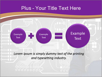 Human hand drawing PowerPoint Template - Slide 75