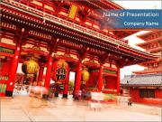 Japanese house PowerPoint Template
