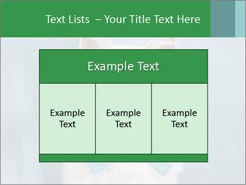 Beautiful white cat PowerPoint Template - Slide 59