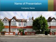 London street PowerPoint Template