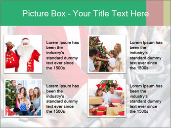 Santa Claus in the gym PowerPoint Template - Slide 14
