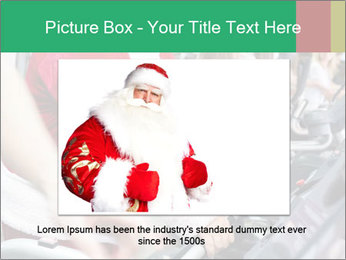Santa Claus in the gym PowerPoint Template - Slide 16