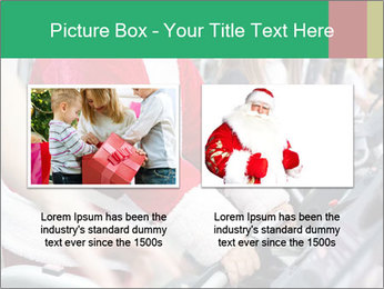 Santa Claus in the gym PowerPoint Template - Slide 18
