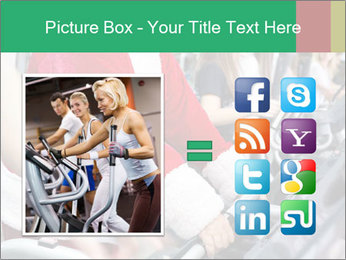 Santa Claus in the gym PowerPoint Template - Slide 21