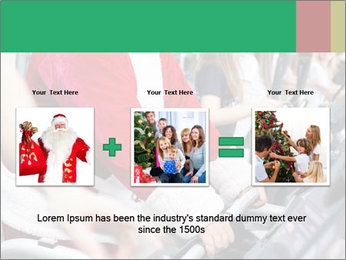 Santa Claus in the gym PowerPoint Template - Slide 22