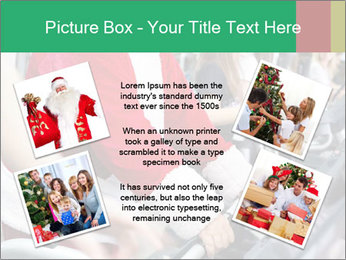 Santa Claus in the gym PowerPoint Template - Slide 24