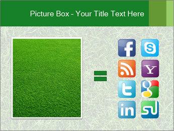 Gree Grass Texture PowerPoint Template - Slide 21