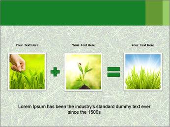 Gree Grass Texture PowerPoint Template - Slide 22