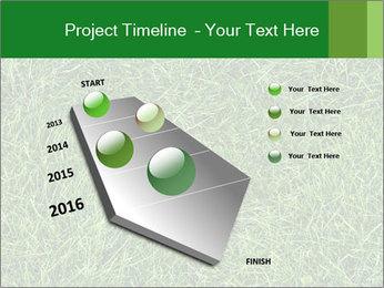 Gree Grass Texture PowerPoint Template - Slide 26