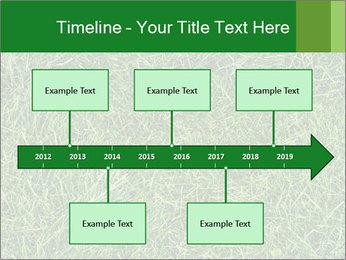 Gree Grass Texture PowerPoint Template - Slide 28